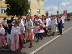 Na Slováckých slavnostech vína v Uherském Hradišti