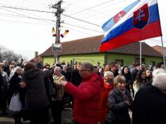 Celonárodní vzpomínka na Jozefa Miloslava Hurbana v Beckově
