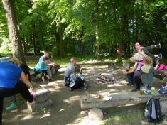Den dětí v lese